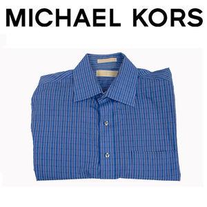 Michael Kors Dress Shirt, Button Up Size Large